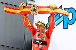 Le Champion du Monde 250cc Jorge Lorenzo