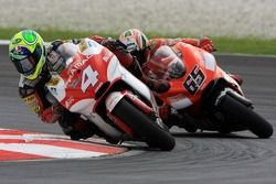 Alex Barros followed by Loris Capirossi