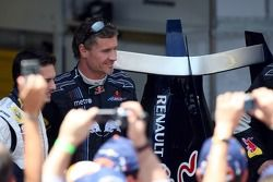 Giancarlo Fisichella et David Coulthard