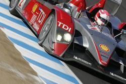 #2 Audi Sport North America Audi R10 TDI: Mike Rockenfeller, Marco Werner