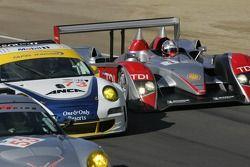 #1 Audi Sport North America Audi R10 TDI: Rinaldo Capello, Allan McNish
