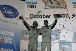 GT1 podium: class winners Oliver Gavin and Olivier Beretta
