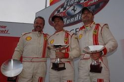 Grid B race 1: the podium