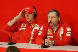 Kimi Räikkönen et Jean Todt