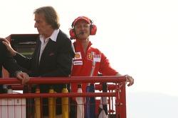 Michael Schumacher et Luca di Montezemolo