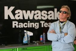 Гараж команды Kawasaki Racing