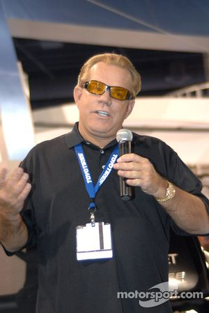 Ronn Bailey at SEMA trade show in Las Vegas