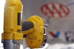 Tools in David Ragan's #6 AAA Ford garage stall