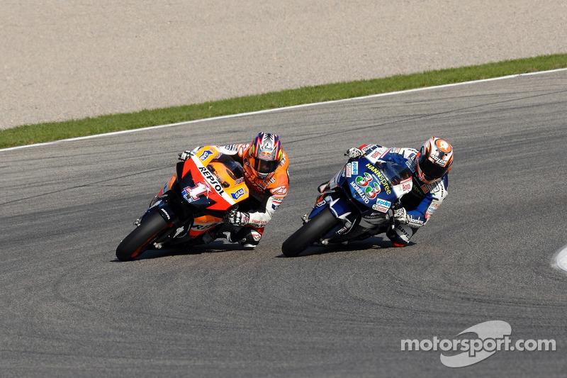 Marco Melandri e Nicky Hayden