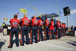 The crew of Jeff Gordon's #24 DuPont Chevrolet