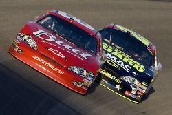 Dale Earnhardt Jr. leads Casey Mears