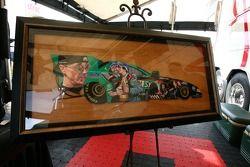 A multi-image portrait of Eric Medlen
