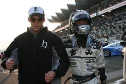 Jyuiti Wakisaka and Andre Lotterer