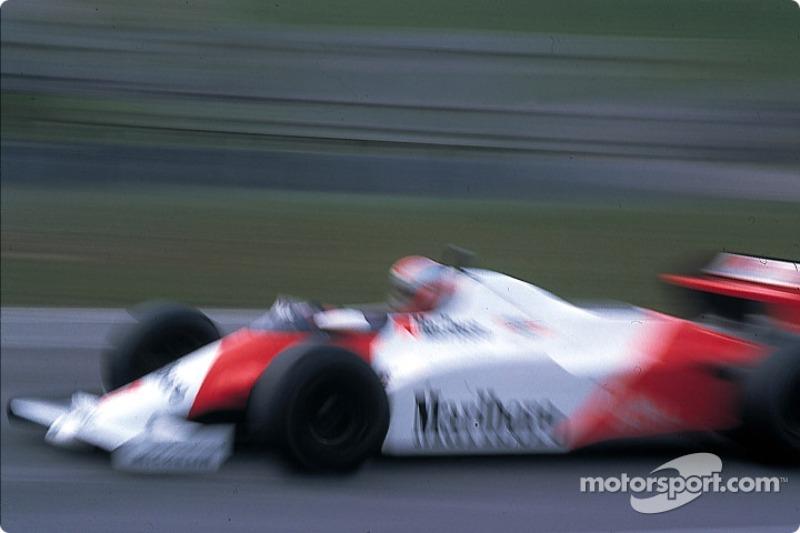 2 - (22 posições): John Watson, McLaren: de 22º à vitória no GP dos Estados Unidos de 1983