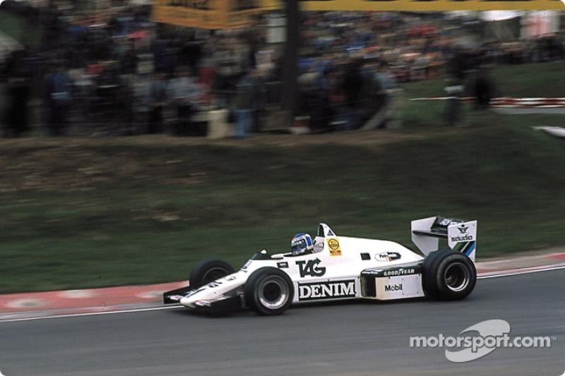 Keke Rosberg, Williams-Cosworth FW08C