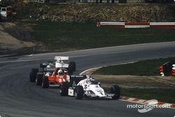 Keke Rosberg, René Arnoux, Danny Sullivan and Alan Jones
