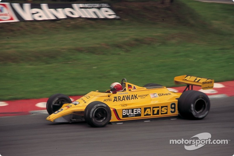 "8. <img src=""https://cdn-8.motorsport.com/static/img/cfp/0/0/0/200/208/s3/switzerland-3.jpg"" alt="""" width=""20"" height=""12"" /> Mark Zurrr. 81 races (1979-1986). Best result - fourth (Brazil 1981, Italy 1985)."