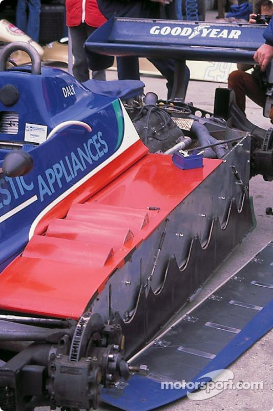 A Tyrrell szoknyája