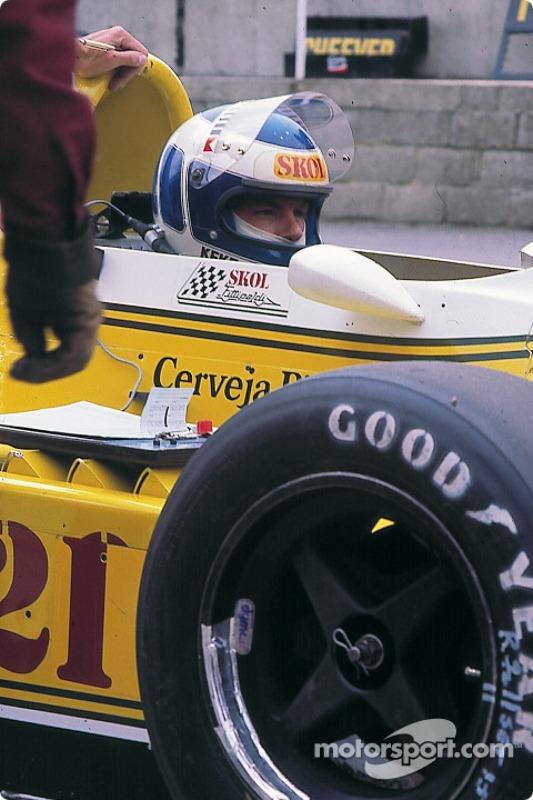 Keke Rosberg, Fittipaldi F8