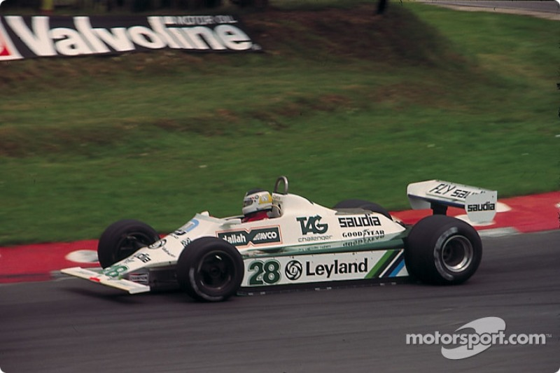 Carlos Reutemann, Williams FW07B