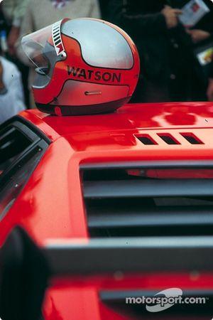 John Watson helmet on BMW Procar