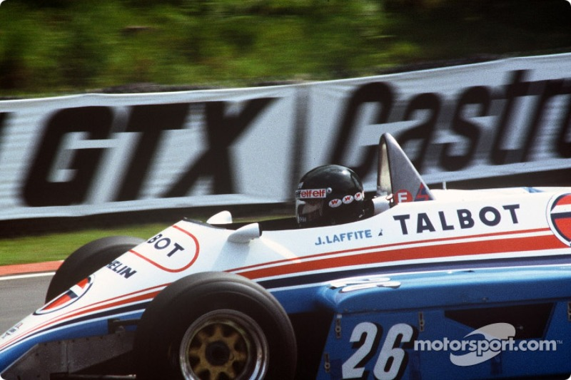 12: Jacques Laffite - 1981 İspanya: 37 yıl 7 ay