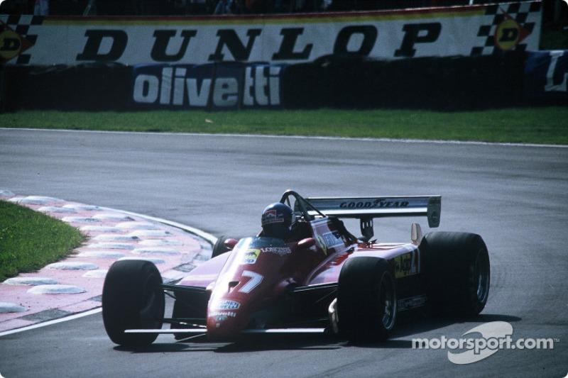 Гран При прошел спустя всего неделю после уик-энда в Германии, потому Ferrari не успела найти себе нового пилота на замену Пирони – и ее цвета защищал только Патрик Тамбэ