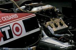 Traseira do Ligier de De Cesaris