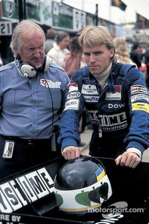 Stefan Johansson, Tyrrell, mit Maurice Philippe