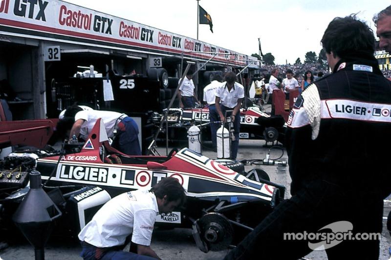 1984 – 1986: Ligier
