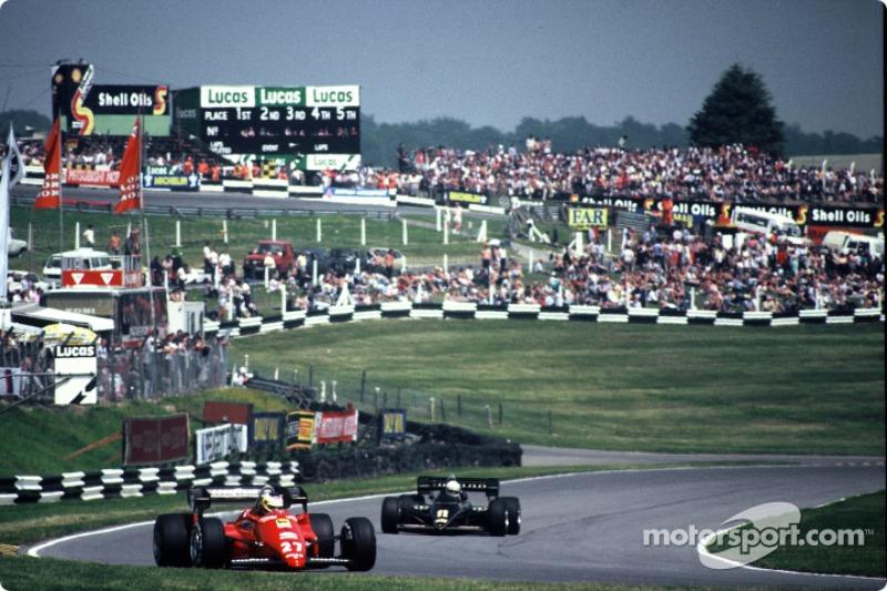 O GP da Grã-Bretanha, em Brands Hatch, da temporada de 1984 da F1 marcou a 10ª etapa do campeonato daquele ano.