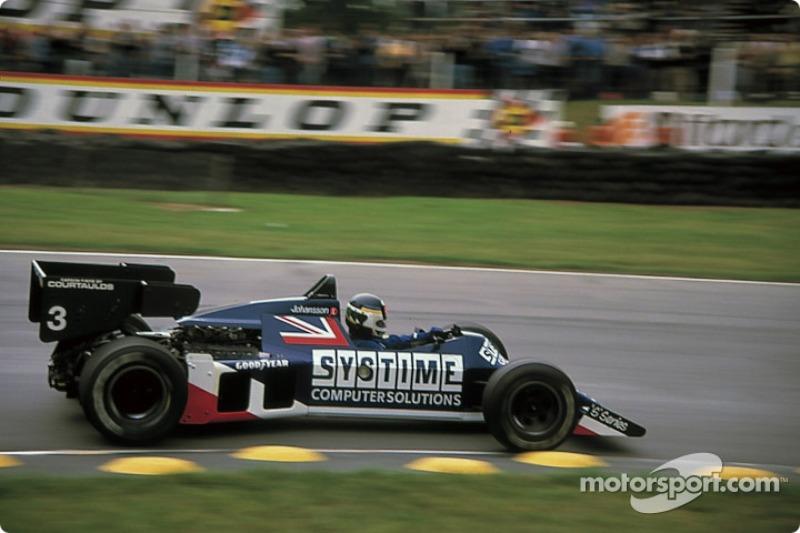 Um dos pilotos da escuderia, Martin Brundle, se acidentou na prova anterior, em Dallas, onde quebrou os pés. O sueco Stefan Johansson foi o seu substituto.