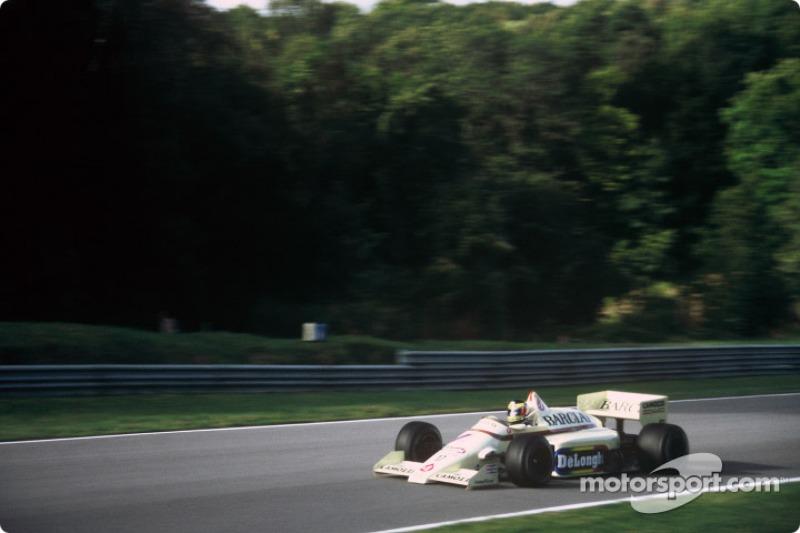 Thierry Boutsen sur une Williams-Renault