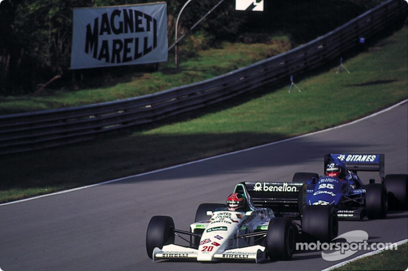 Филип Стрейф, Гран При Австралии-1985. Позиция на финише: 3