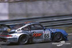 #65 Roock Racing Porsche 911 GT2: André Ahrlé, Robert Schirle, David Warnock