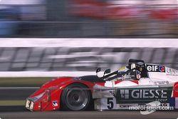 #5 JB Racing Ferrari 333 SP: Vincenzo Sospiri, Jean-Christophe Boullion, Jérôme Policand