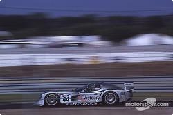 #44 Panoz Motor Sports Panoz GTR-1: Eric Bernard, Christophe Tinseau, Johnny O'Connell