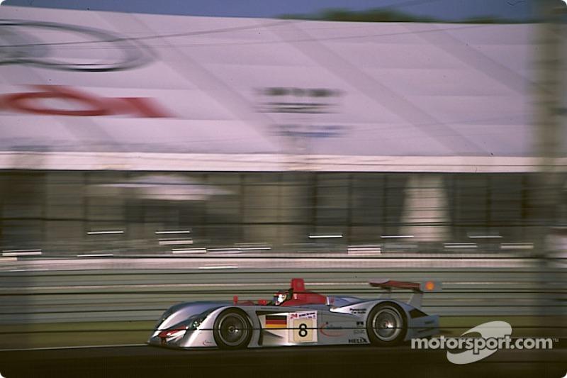 El R8 de Frank Biela, Tom Kristensen y Emanuele Pirro en Le Mans (2000)
