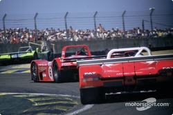 #6 Team Oreca Reynard Chrysler 2KQ: Didier Theys, Jeffrey van Hooydonck, Didier André