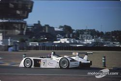 #7 Team Joest, Audi R8: Michele Alboreto, Christian Abt, Rinaldo Capello