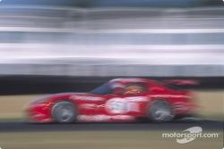 Viper blur at the chicane