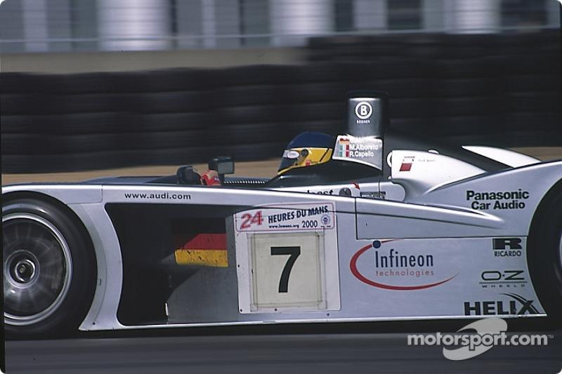 #7 Team Joest Audi R8: Мікеле Альборето