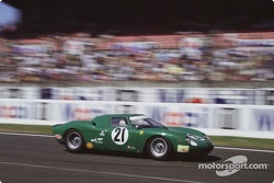 David Piper Ferrari LM wins the LeMans classic opener