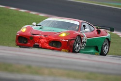#97 GPC Sport Ferrari 430 GT: Fabrizio De Simone, Luca Drudi, Matteo Bobbi, Yves Lambert