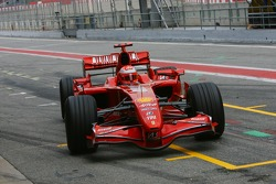 Michael Schumacher, Test Driver, Scuderia Ferrari, F2007