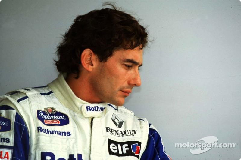 Em 1994 Senna poderia ter subido ao trono da F1