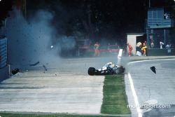 L'incidente mortale di Ayrton Senna al Tamburello