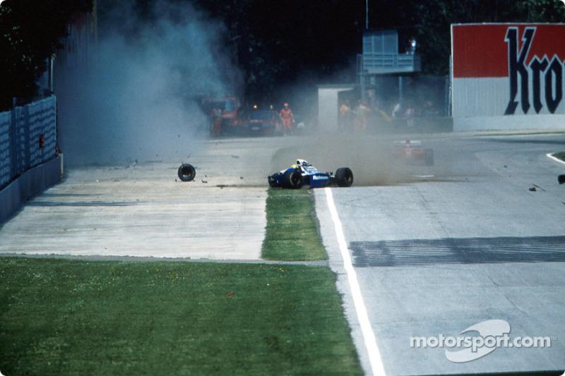 De fatale crash van Ayrton Senna in Tamburello