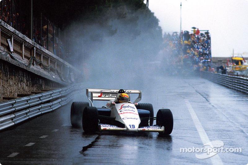 1984 GP de Mónaco mención honorífica