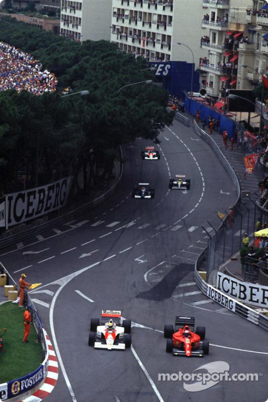Pace lap: Ayrton Senna ve Alain Prost